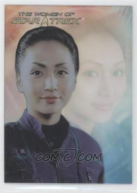2010 Rittenhouse The Women of Star Trek Leading Ladies #LL9 - Linda Park as Lt. Hoshi Sato