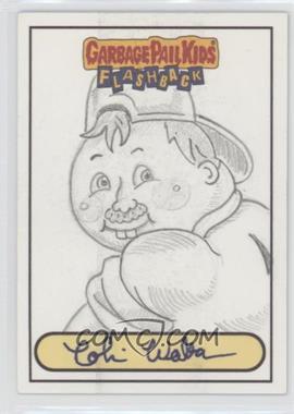 2010 Topps Garbage Pail Kids Flashback - [???] #NoN - Cobi Walker Sketch Card