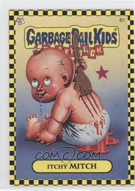 2010 Topps Garbage Pail Kids Flashback [???] #B1 - Itchy Mitch