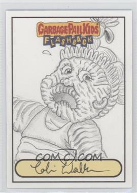2010 Topps Garbage Pail Kids Flashback [???] #NoN - Cobi Walker Sketch Card