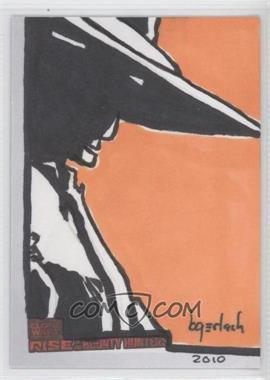 2010 Topps Star Wars: Clone Wars Rise of the Bounty Hunters - Sketch Cards #BGUC - Bruce Gerlach, Cad Bane