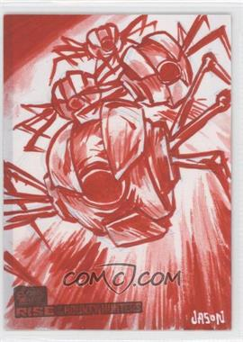2010 Topps Star Wars: Clone Wars Rise of the Bounty Hunters - Sketch Cards #JPUC - Jason Keith Phillips (Unknown Character)