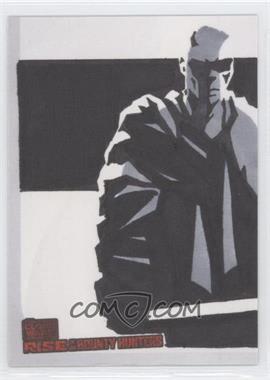 2010 Topps Star Wars: Clone Wars Rise of the Bounty Hunters - Sketch Cards #UAMW - Unknown Artist (Mace Windu)