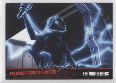 2010 Topps Star Wars: Clone Wars Rise of the Bounty Hunters Foil Stamp #32 - The Mind Benders /100