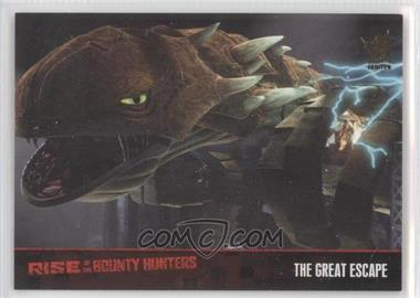 2010 Topps Star Wars: Clone Wars Rise of the Bounty Hunters Foil Stamp #74 - The Great Escape /100