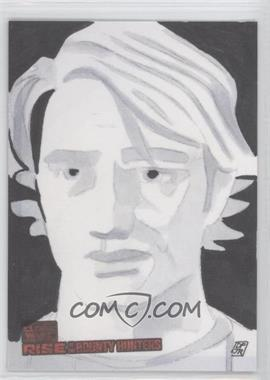 2010 Topps Star Wars: Clone Wars Rise of the Bounty Hunters Sketch Cards #DPAS - Don Pedicini Jr. (Anakin Skywalker)