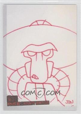 2010 Topps Star Wars: Clone Wars Rise of the Bounty Hunters Sketch Cards #JOMO - Jon Morris