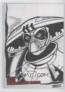 2010 Topps Star Wars: Clone Wars Rise of the Bounty Hunters Sketch Cards #RIUC - Rich Molinelli (Unknown Character)