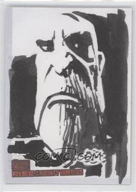 2010 Topps Star Wars: Clone Wars Rise of the Bounty Hunters Sketch Cards #UACD - Unknown Artist (Count Dooku)