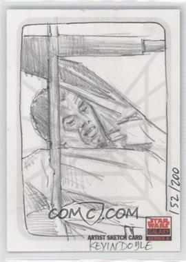 2010 Topps Star Wars Galaxy Series 5 - Sketch Cards #KDUC - Kevin Doyle /200