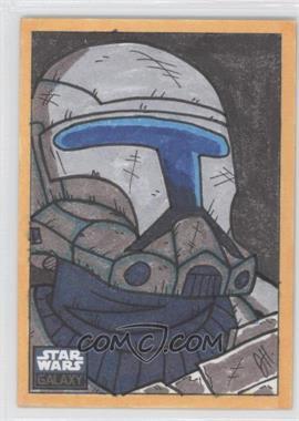 2010 Topps Star Wars Galaxy Series 5 - Sketch Cards #N/A - Joe Hogan /1
