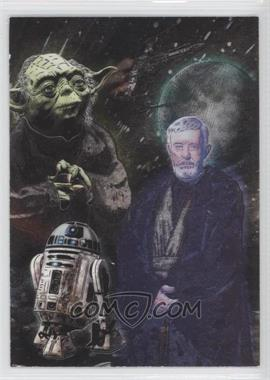 2010 Topps Star Wars Galaxy Series 5 Etched Foil #3 - [Missing]