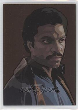 2010 Topps Star Wars Galaxy Series 5 Foil Art Bronze #7 - Lando Calrissian