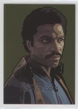 2010 Topps Star Wars Galaxy Series 5 Foil Art Gold #7 - Lando Calrissian /770