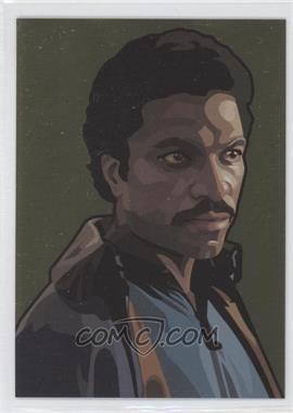 2010 Topps Star Wars Galaxy Series 5 Foil Art Gold #7 - [Missing] /770
