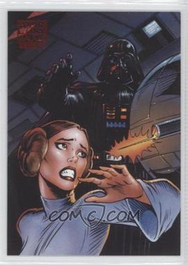 2010 Topps Star Wars Galaxy Series 5 Lost Galaxy #5 - Behind Death Star Doors