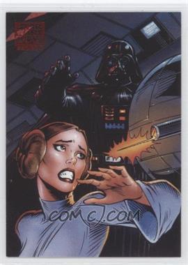 2010 Topps Star Wars Galaxy Series 5 Lost Galaxy #5 - Behind Death Star Doors