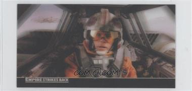 2010 Topps Star Wars: The Empire Strike Back 30th Anniversary 3D Widescreen Promos #P1 - Luke Skywalker