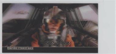 2010 Topps Star Wars: The Empire Strike Back 30th Anniversary 3D Widescreen Promos #P1 - Luke Skywalker