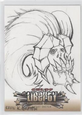 2011 Cryptozoic CBLDF Liberty Sketch Cards #N/A - [Missing] /1