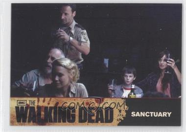 2011 Cryptozoic The Walking Dead Season 1 - Checklist #68 - Sanctuary