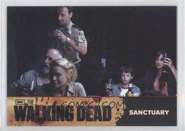 2011 Cryptozoic The Walking Dead Season 1 [???] #68 - Sanctuary