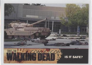 2011 Cryptozoic The Walking Dead Season 1 Checklist #65 - Is it Safe?