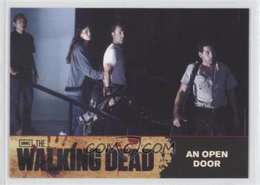 2011 Cryptozoic The Walking Dead Season 1 Checklist #77 - An Open Door
