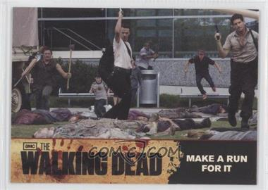 2011 Cryptozoic The Walking Dead Season 1 Checklist #80 - Make A Run For It