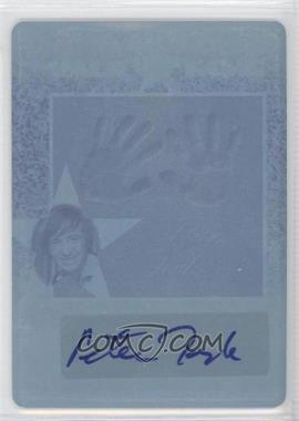 2011 Leaf Pop Century - Walk of Fame - Printing Plate Cyan #WF-PT1 - [Missing] /1