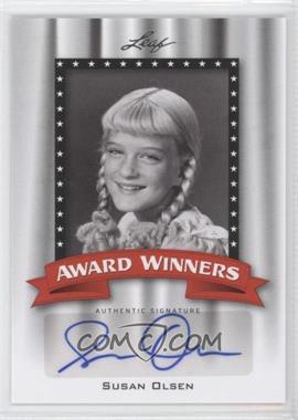 2011 Leaf Pop Century Award Winners #AW-SO2 - Susan Olsen