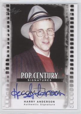 2011 Leaf Pop Century Signatures #BA-HA1 - Harry Anderson