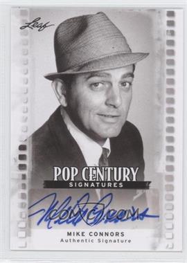 2011 Leaf Pop Century Signatures #BA-MC1 - Mike Connors