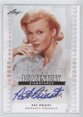 2011 Leaf Pop Century Signatures #BA-PP1 - Pat Priest