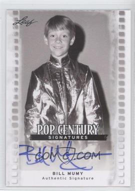 2011 Leaf Pop Century #BA-BM1 - Bill Mumy