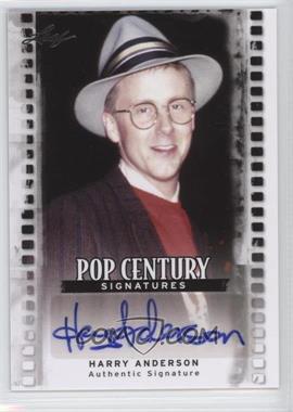 2011 Leaf Pop Century #BA-HA1 - Harry Anderson
