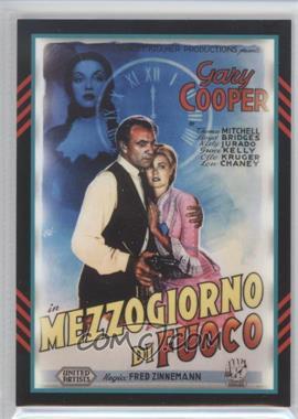 2011 Panini Americana - Movie Posters Materials Combo #19 - Gary Cooper, Grace Kelly /499