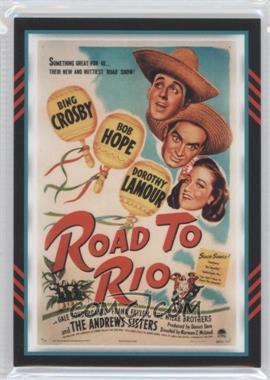 2011 Panini Americana - Movie Posters Materials #8 - Bob Hope /499