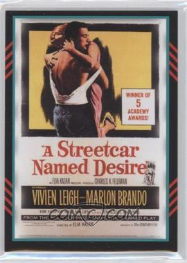 2011 Panini Americana Movie Posters Materials Combo #27 - Marlon Brando, Vivien Leigh /499
