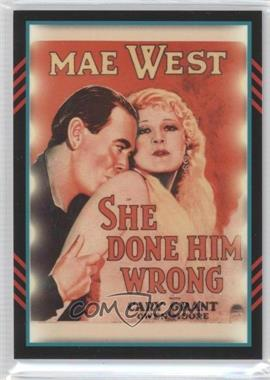 2011 Panini Americana Movie Posters Materials #12 - Mae West /499
