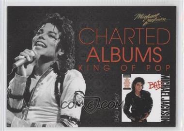 2011 Panini Michael Jackson Charted Albums Gold #3 - Michael Jackson