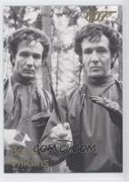 Tony & David Meyer as Mischka & Grischka