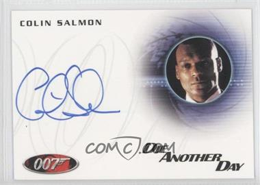2011 Rittenhouse James Bond: Mission Logs Autographs #A174 - Colin Salmon as Charles Robinson