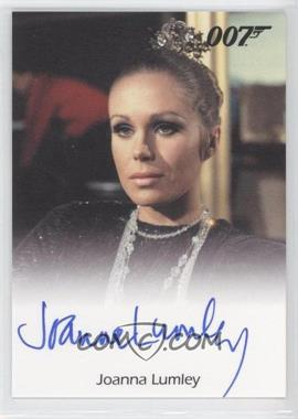 2011 Rittenhouse James Bond: Mission Logs Full-Bleed Autographs #JOLU - Joanna Lumley as The English Girl