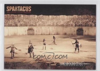 2011 Rittenhouse Spartacus: Blood and Sand Savage #SA5 - [Missing] /350
