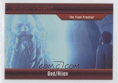 2011 Rittenhouse Star Trek Classic Movies Heroes & Villains Premium Packs - [Base] #20 - The Final Frontier - God/Alien /550