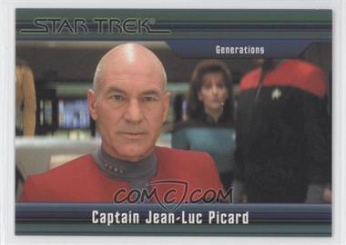 2011 Rittenhouse Star Trek Classic Movies Heroes & Villains Premium Packs - [Base] #37 - Generations - Captain Jean-Luc Picard /550