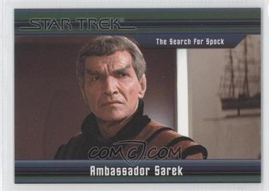 2011 Rittenhouse Star Trek Classic Movies Heroes & Villains Premium Packs #11 - The Search For Spock - Ambassador Sarek /550