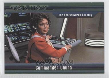 2011 Rittenhouse Star Trek Classic Movies Heroes & Villains Premium Packs #25 - The Undiscovered Country - Commander Uhura /550