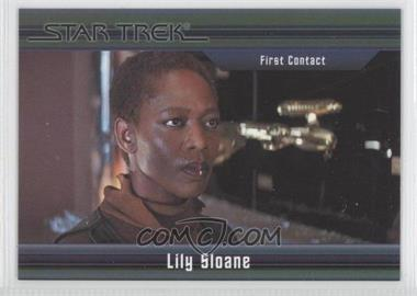 2011 Rittenhouse Star Trek Classic Movies Heroes & Villains Premium Packs #41 - First Contact - Lily Sloane /550
